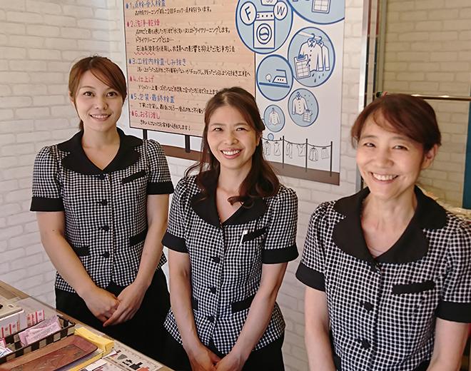 伊那市クリーニングYANO(矢野クリーニング) 店舗スタッフ